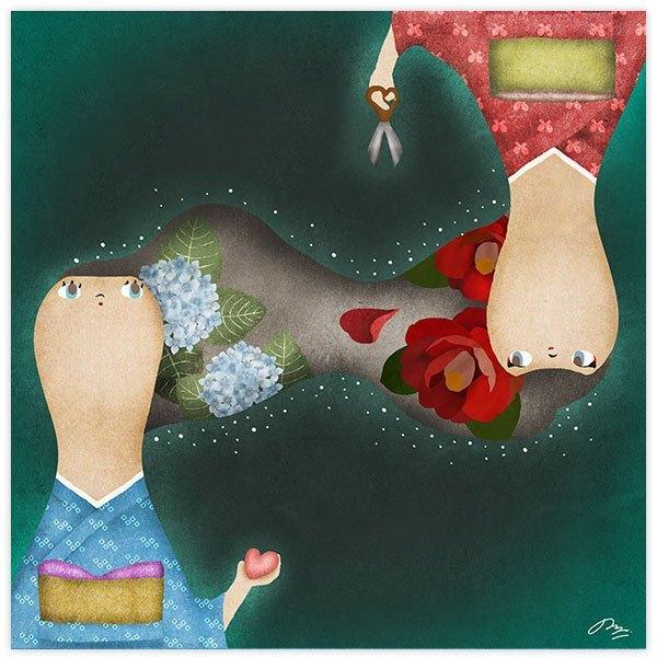 呪いと愛と断ち切り鋏 The curse, love, and the scissors